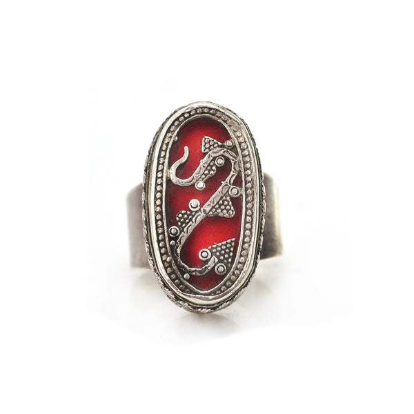 Turkmen Tangle Ring