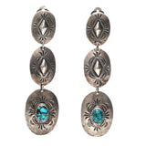 Concho Clip Earrings