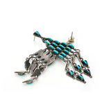 Turquoise Arrow Chandelier Earrings