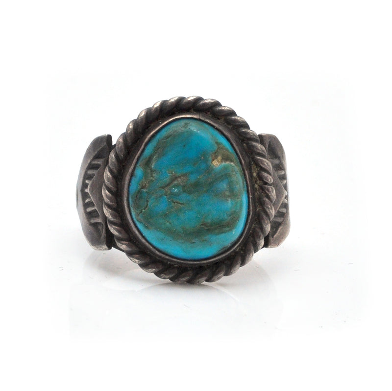 Turquoise Arrow Ring
