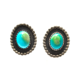 Gemmy Turquoise Studs