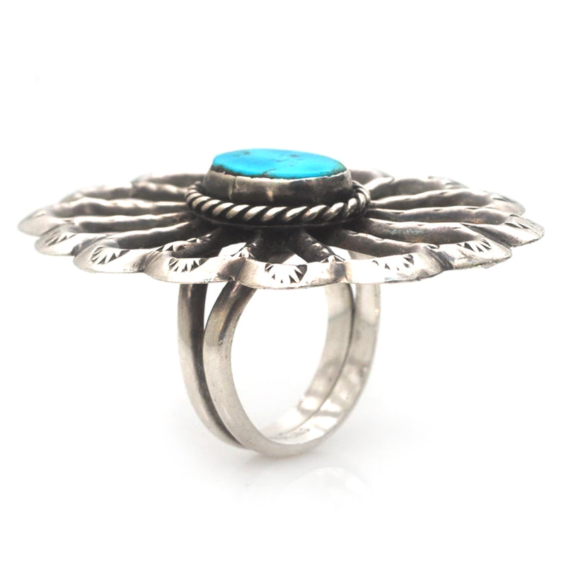 Sandcast Concho Ring