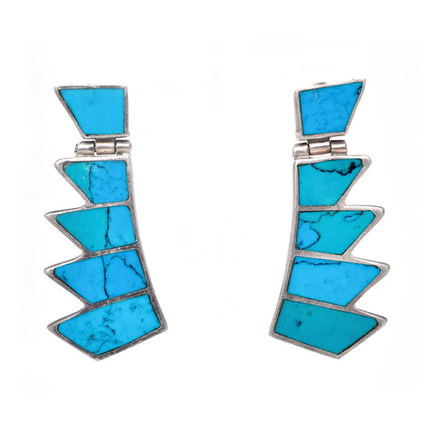 Turquoise Wing Earrings