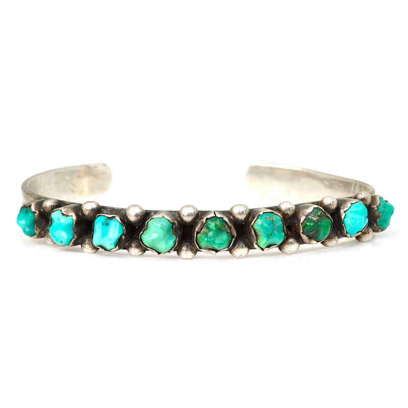 Stepping Stones Turquoise Cuff