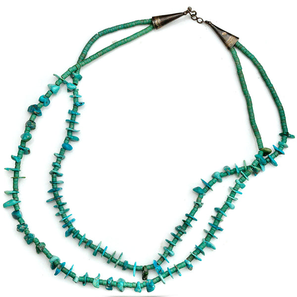 Multi Strand Turquoise Necklace
