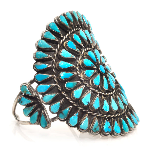 Turquoise Shield Cuff