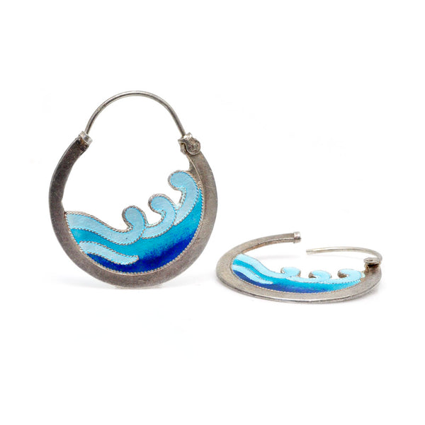 Ocean Eyes Earrings