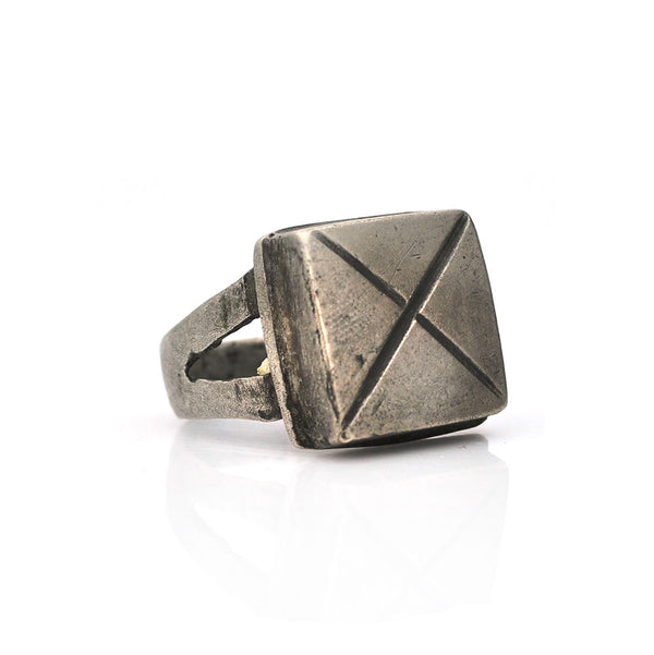 X Marks the Spot Ring