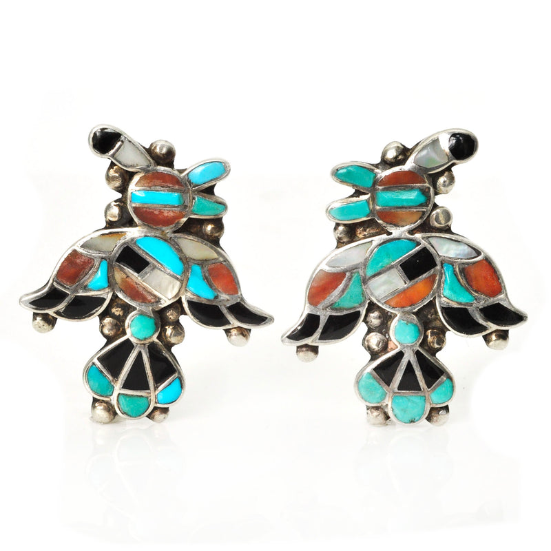 Zuni Thunderbird Earrings