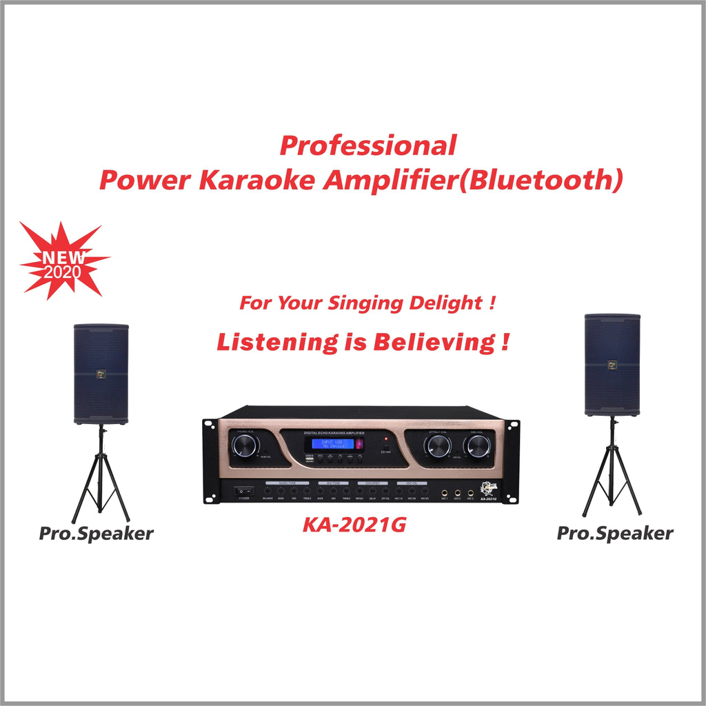 Professional Amplifier(Bluetooth)KA-2021G