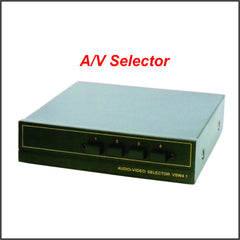A/V Selector (4 in - 1 out)
