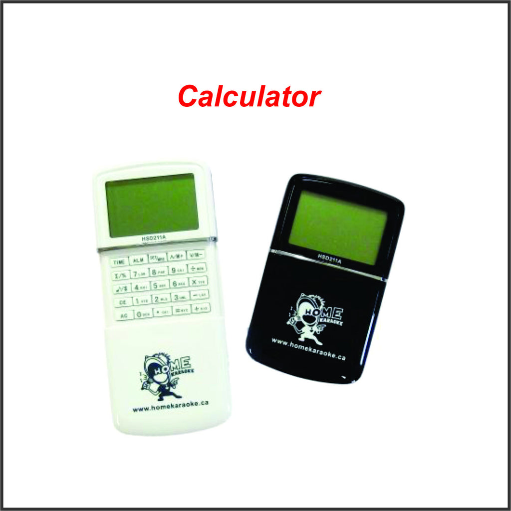 Home Karaoke Gift ( Calculator, Alarm and Calendar)