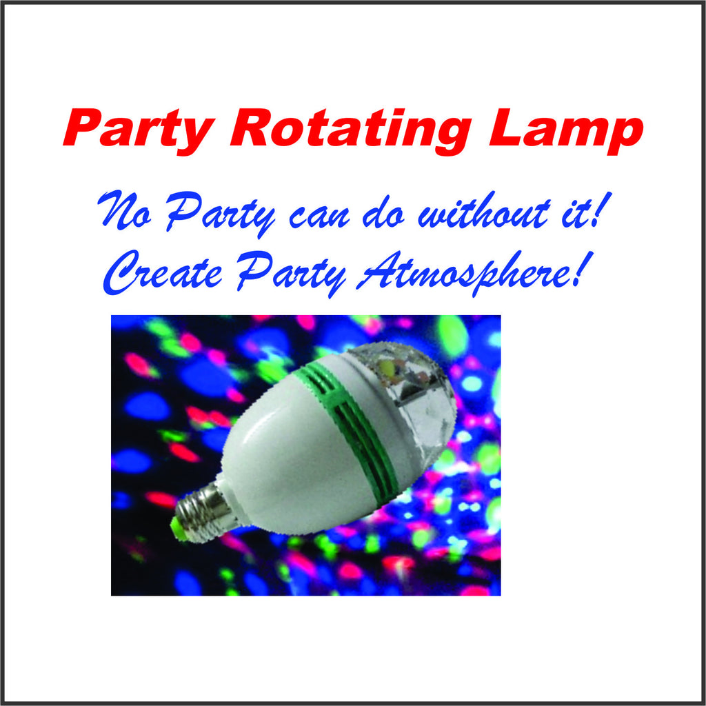 Party Rotating Light