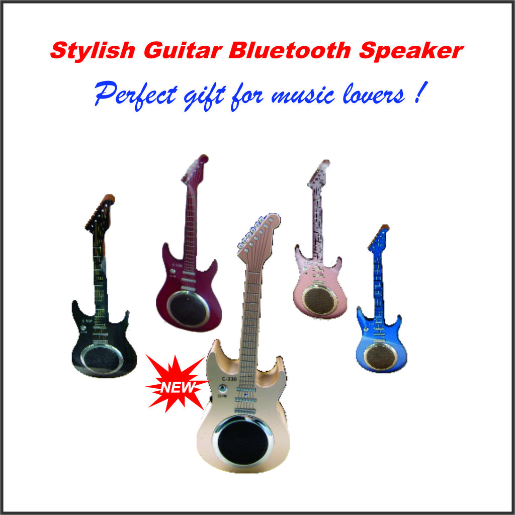 Stylish Guitar Bluetooth Speaker