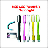 USB LED Twistable Spot Light