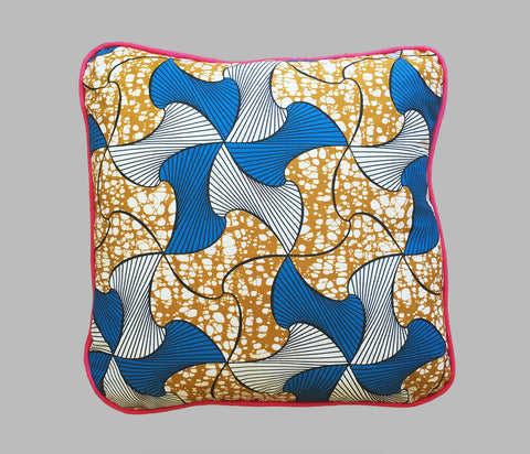 Coussin Blue Swirl