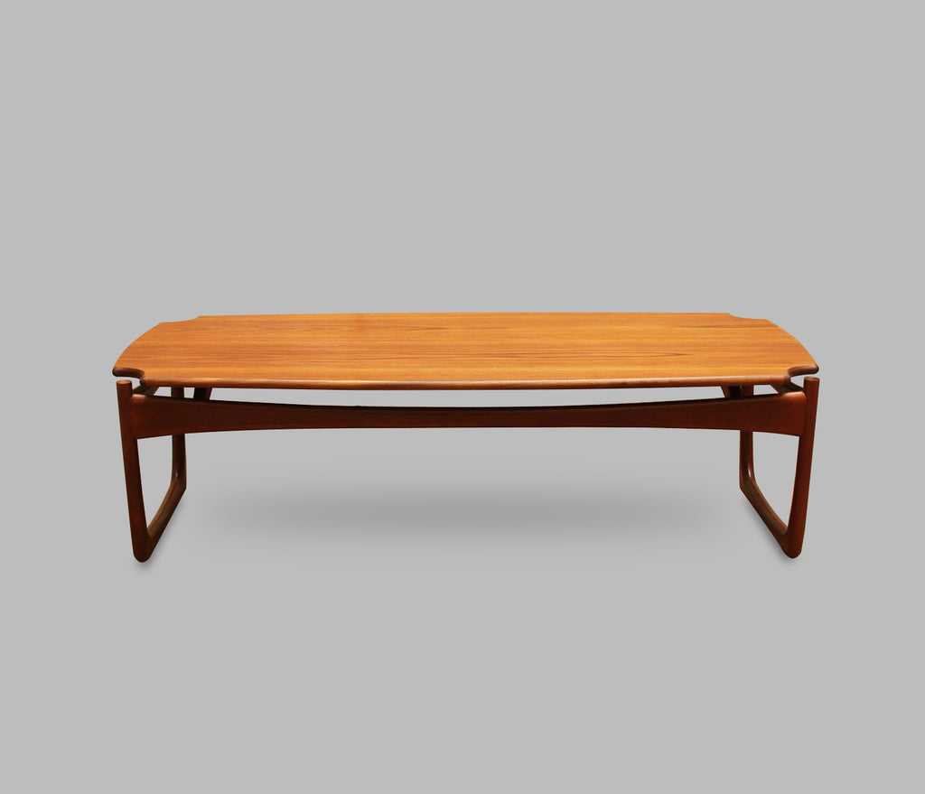 Table basse style Peter Hvidt