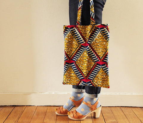 Sac Reversible Aztec Swirls