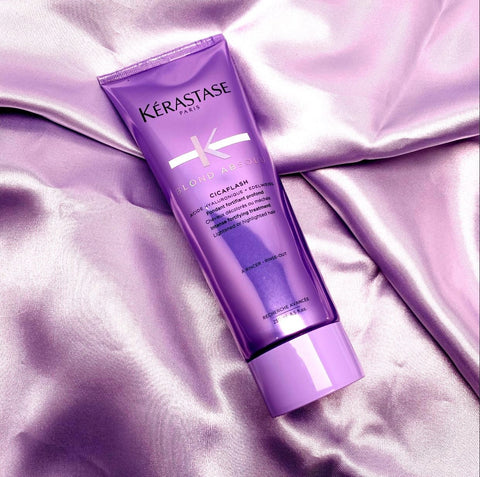 Kerastase Cicaflash Ultra Violet Conditioner for Anti-Brassiness