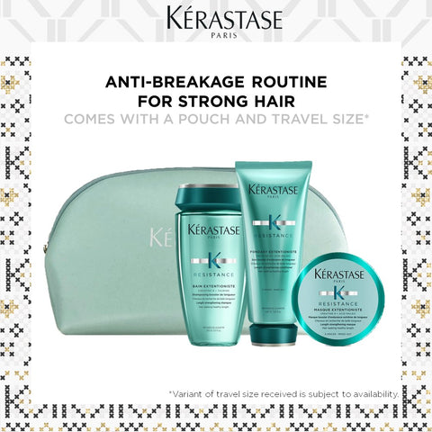 HOLIDAY BEST-SELLER EXTENTIONISTE REPAIR FESTIVE SET FOR DAMAGED HAIR