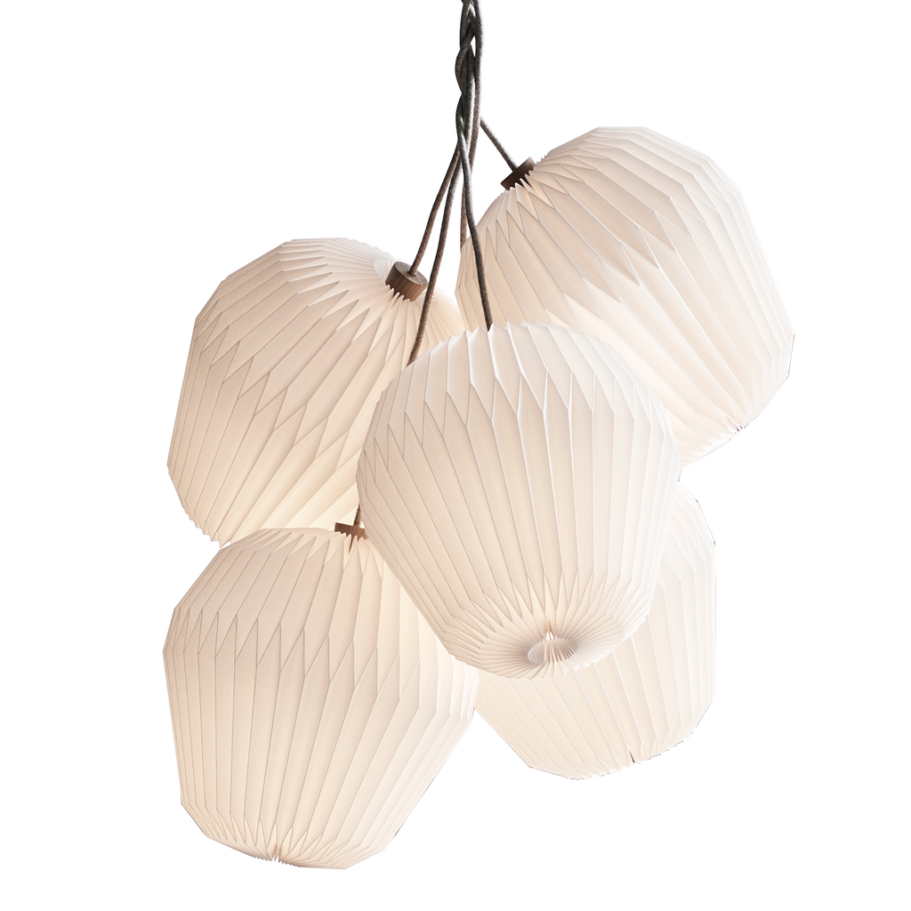 Le Klint - 130 The Bouquet, Large, 5 Shade Chandelier