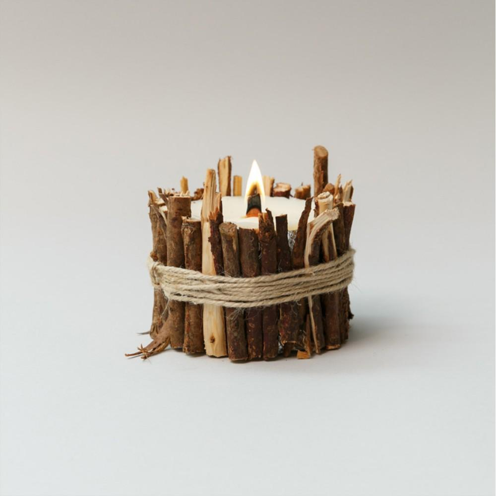 Hiba Wood Candles