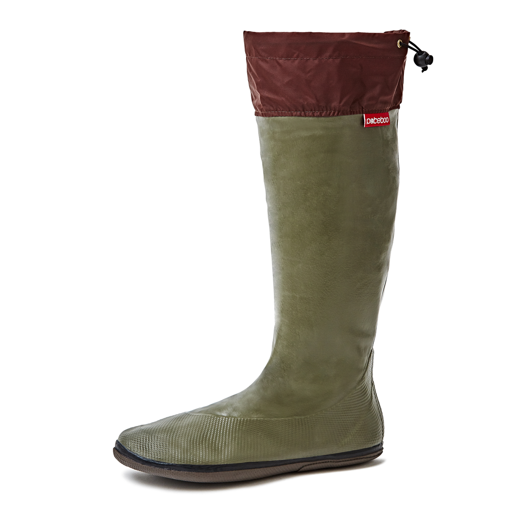 Women's Packable Rubber Rain Boots