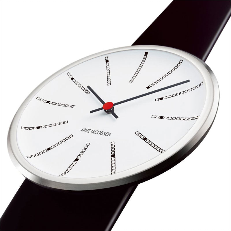 Arne Jacobsen - Banker's 46mm Wrist Watch