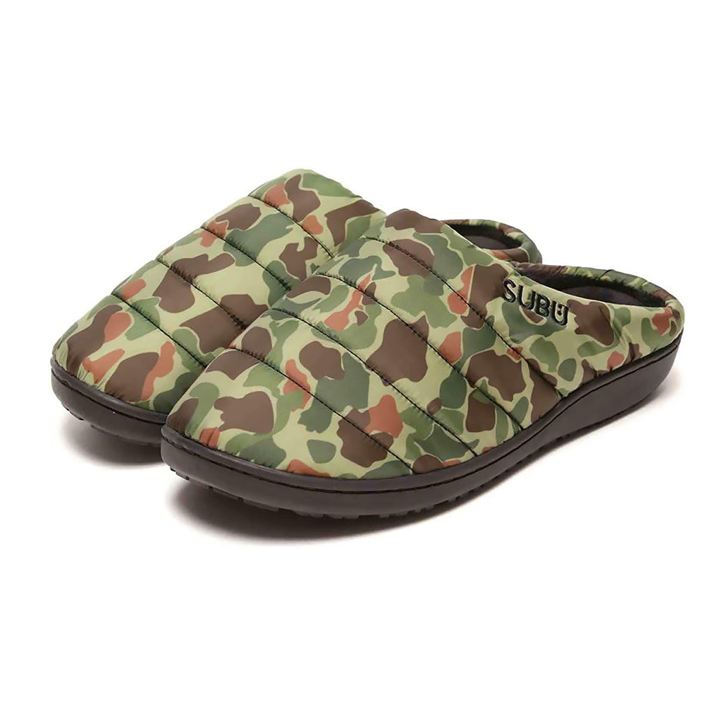 Fall & Winter Slippers - Duck Camo