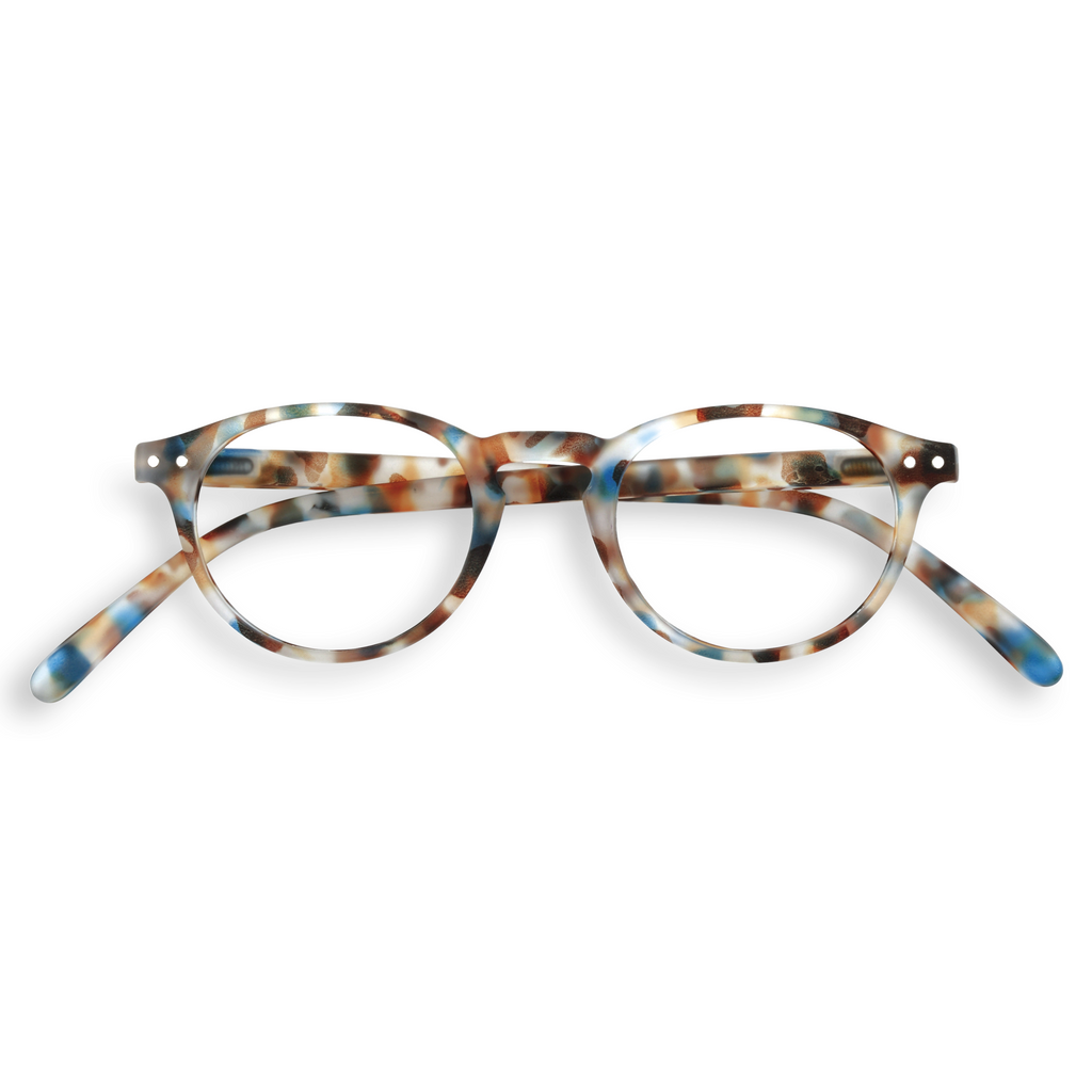 Reading Glasses - A - Blue Tortoise