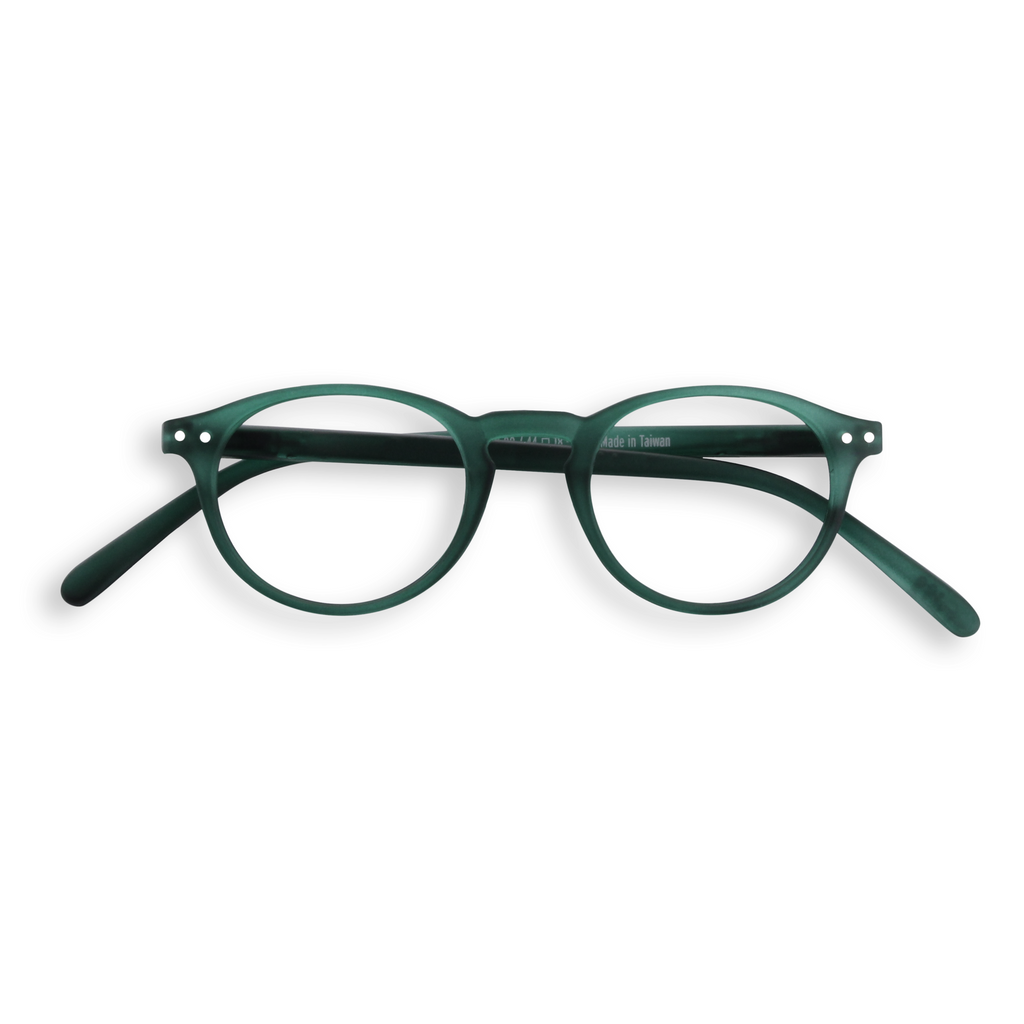 Reading Glasses - A - Green Crystal
