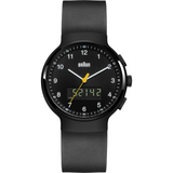 Braun - Men's BN-159BKBKG Analog/Digital, dual time, chronograph + date