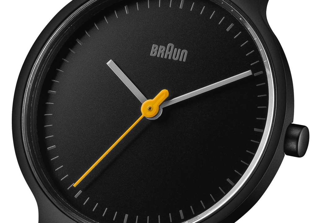 Braun - Ladies' BN-0211BKMHL Classic Slim Analog Watch
