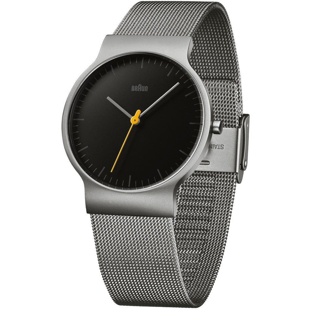 Braun - BN-211BKSLMHG Men's Classic Slim Watch