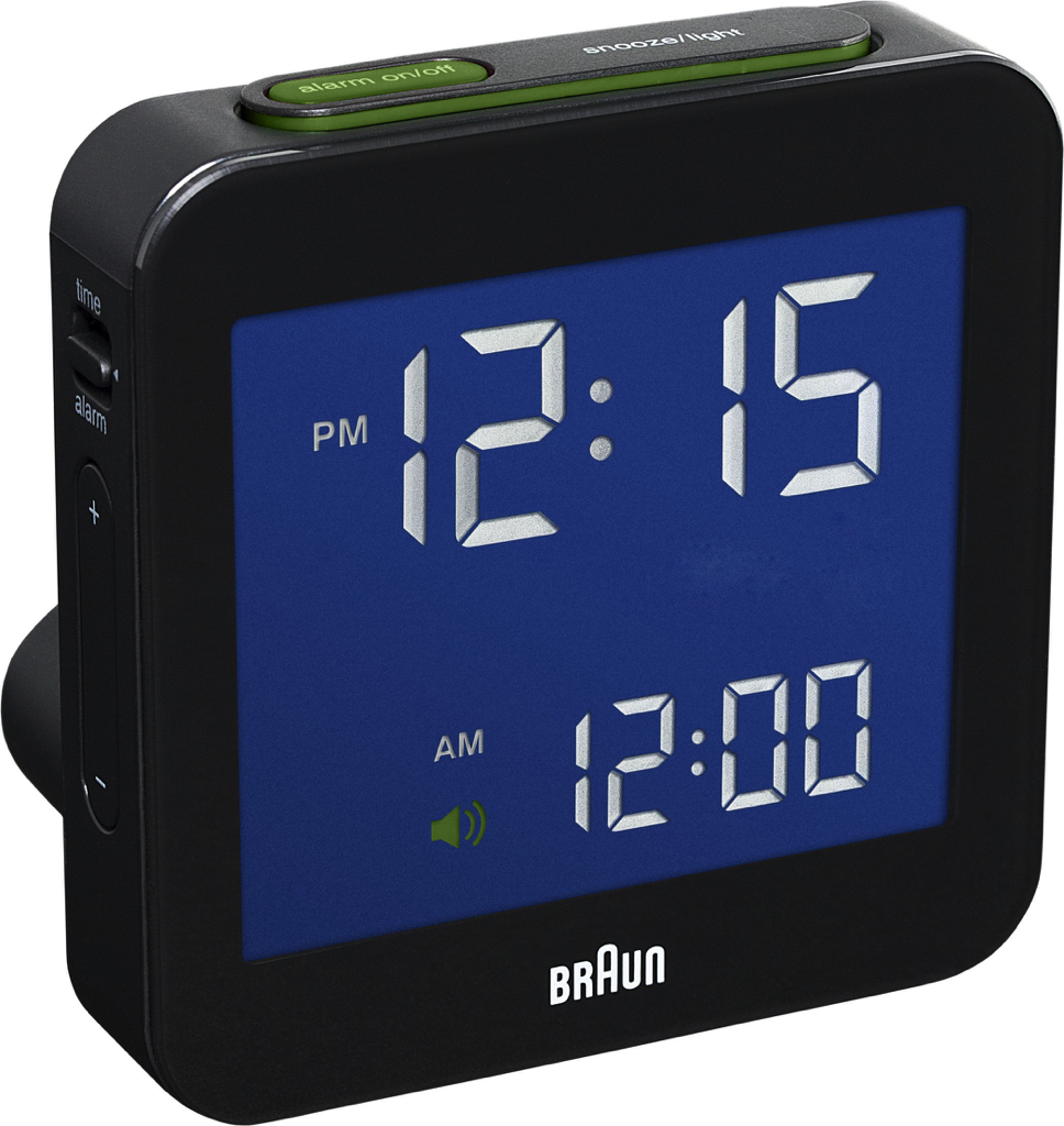 Braun - Digital clock LCD BN-C009