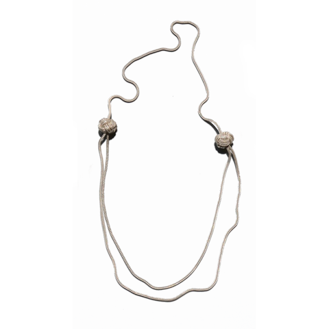 Saskia Diez - Big Knot Short Necklace