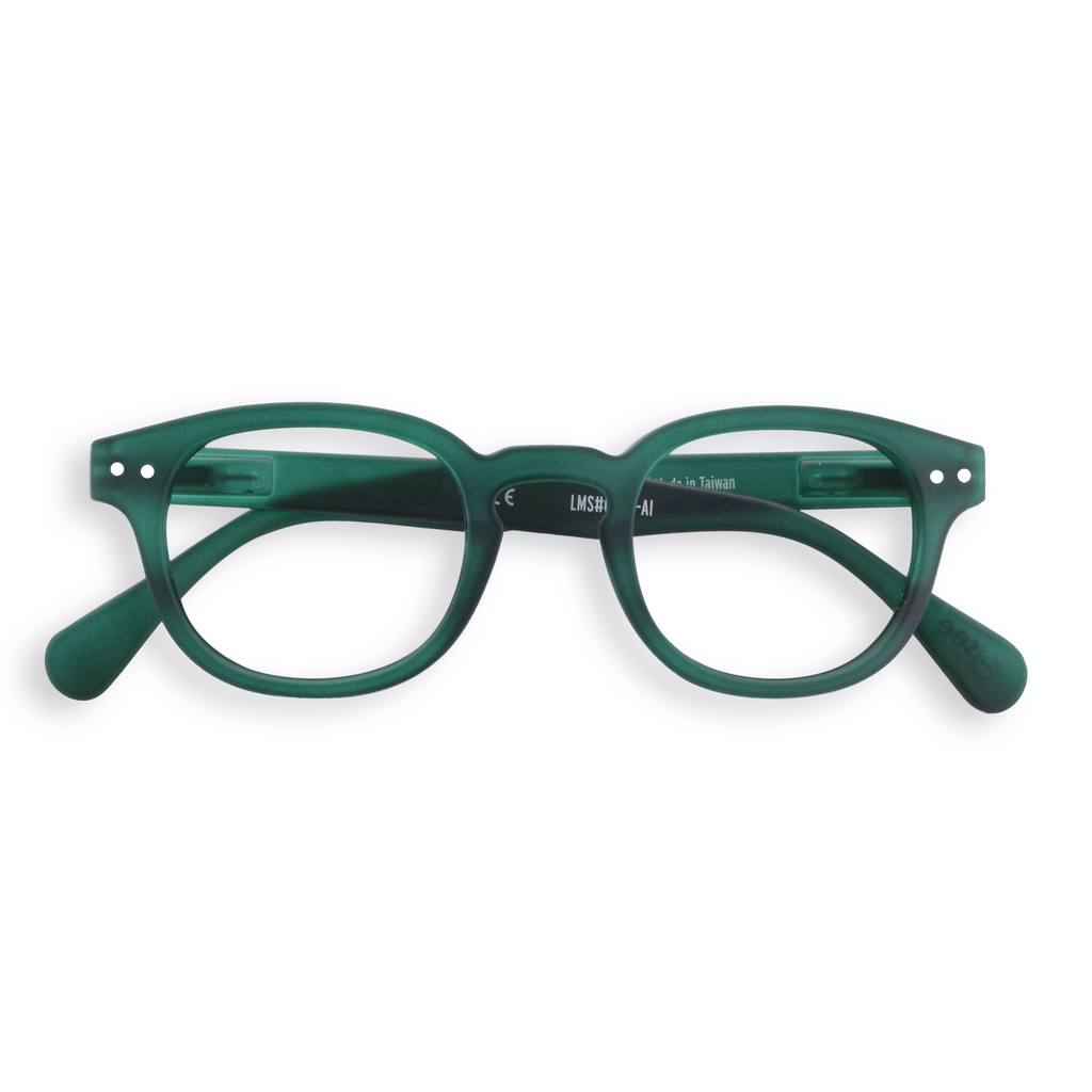 Reading Glasses - C - Green Crystal