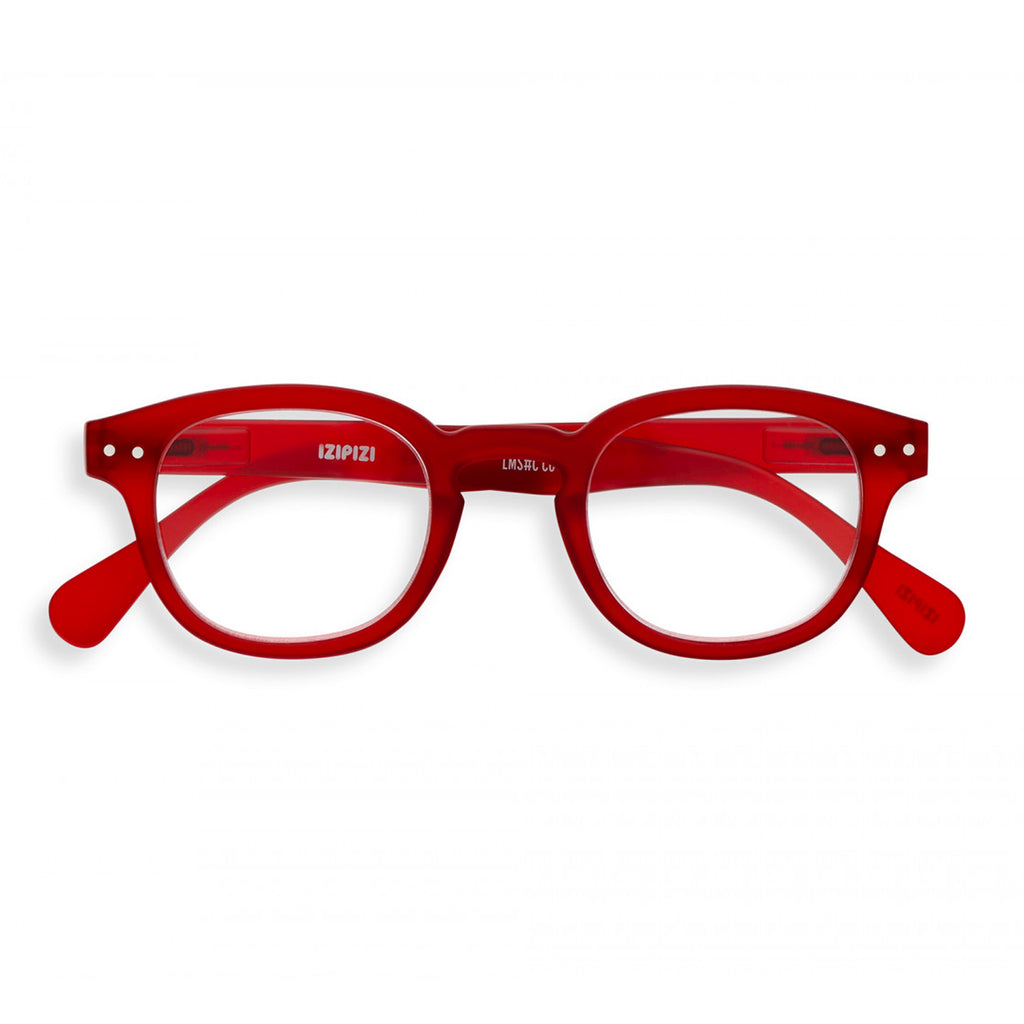 Screen Glasses - C - Red Crystal - No Diopter