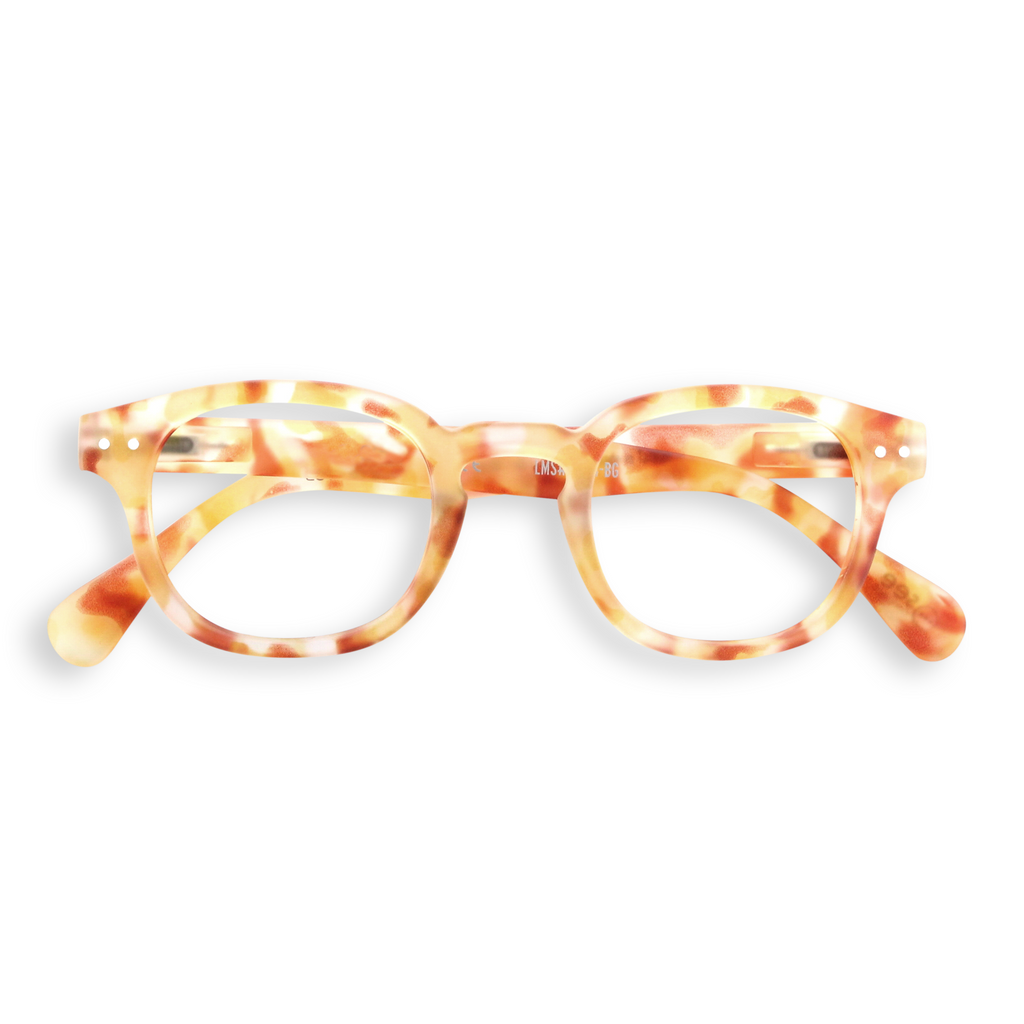 Reading Glasses - C - Yellow Tortoise