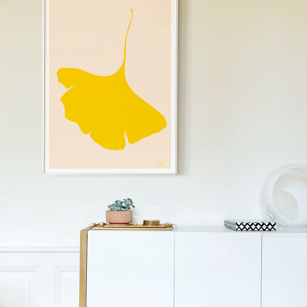 Ginkgo Pop Limited Edition Poster