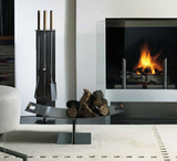 Conmoto - Peter Maly Fireside Tools with Floor Stand
