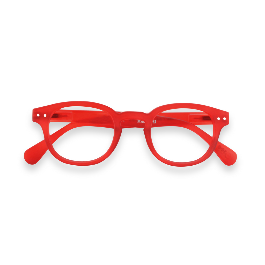 Junior Screen Glasses - C - Red Crystal