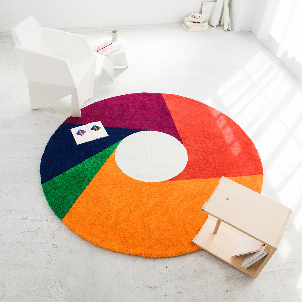 Metrocs - Max Bill - Wool Color Wheel Rug