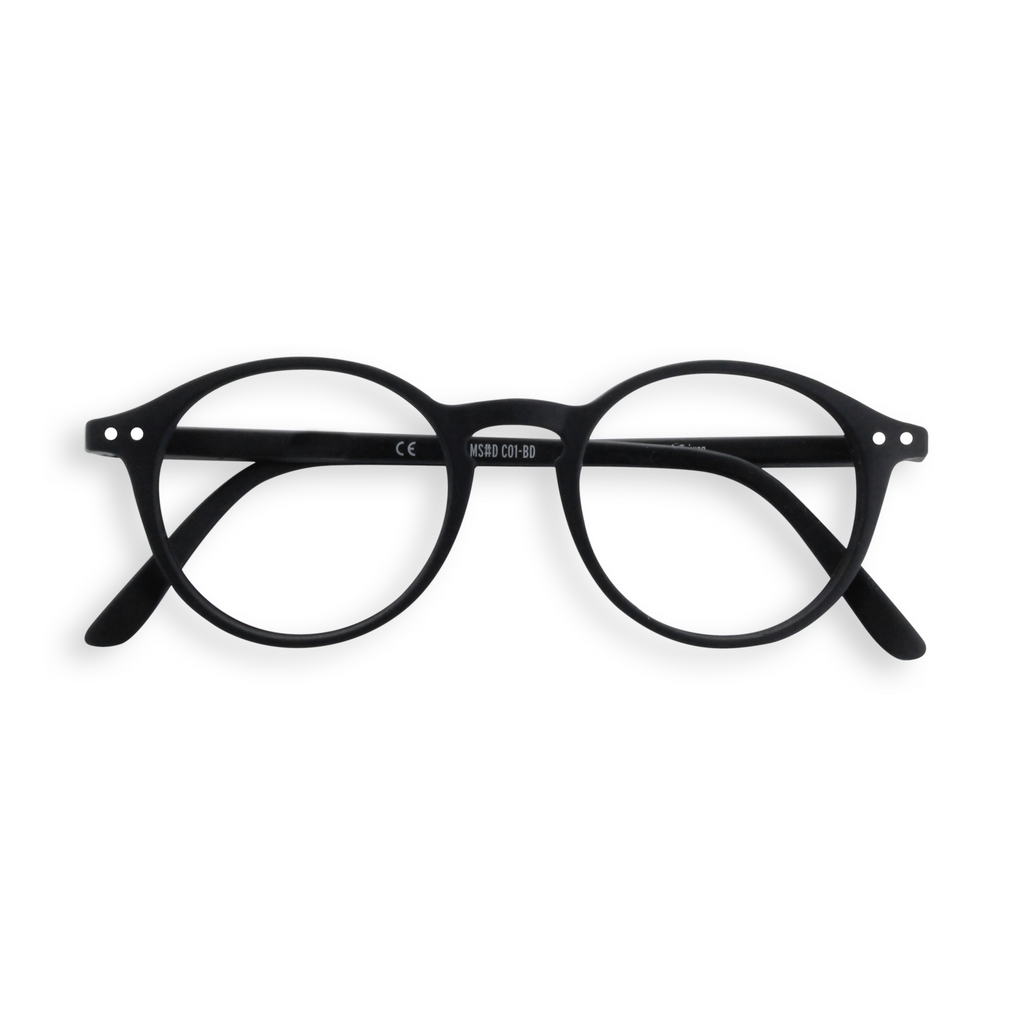 Reading Glasses - D - Black