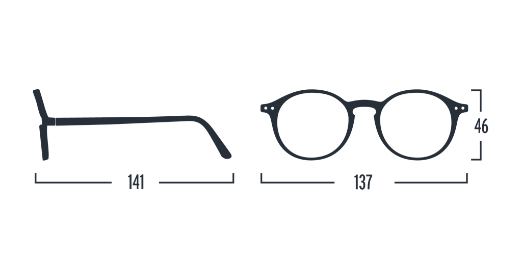 Reading Glasses - D - Blue Tortoise