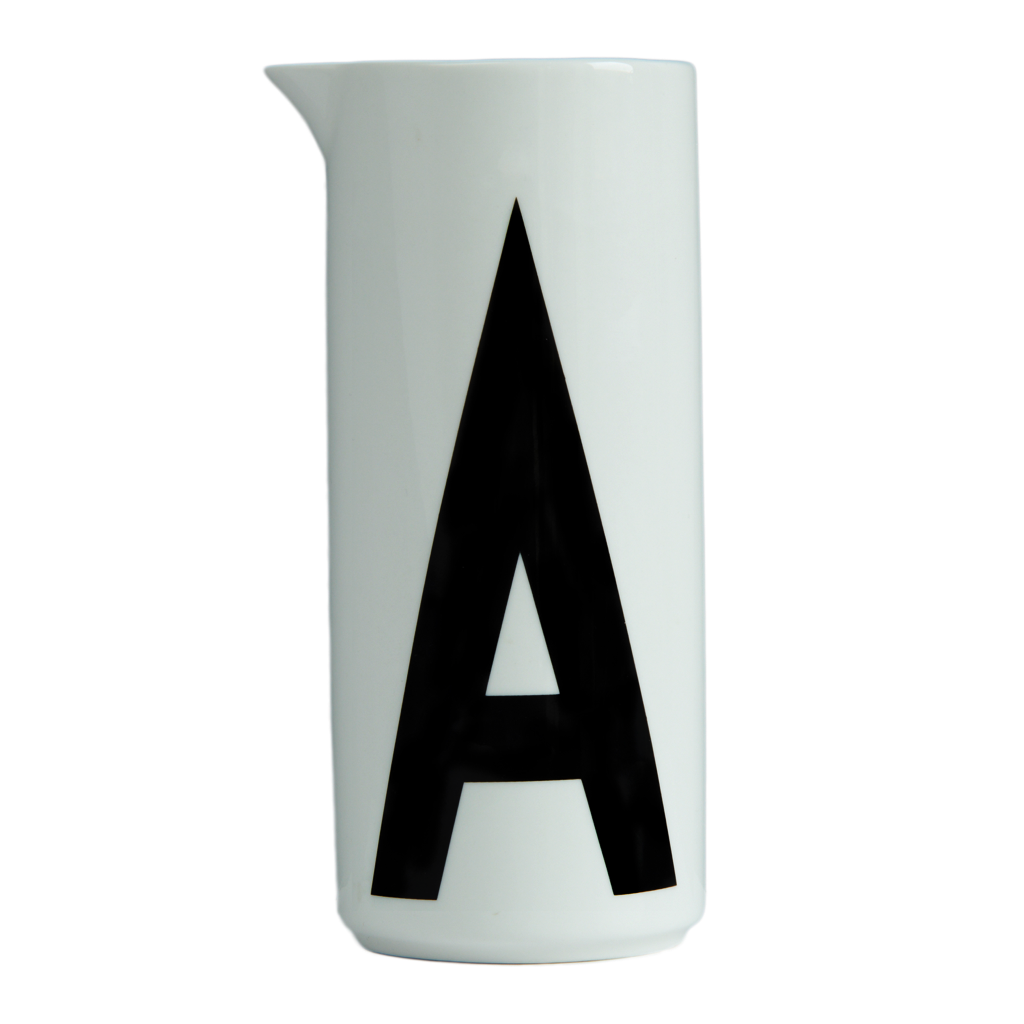 Design Letters - Water Jug - Letter A