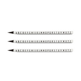 Design Letters - Pencils (5 Pack)