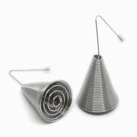 La Mollla - Cone Earrings