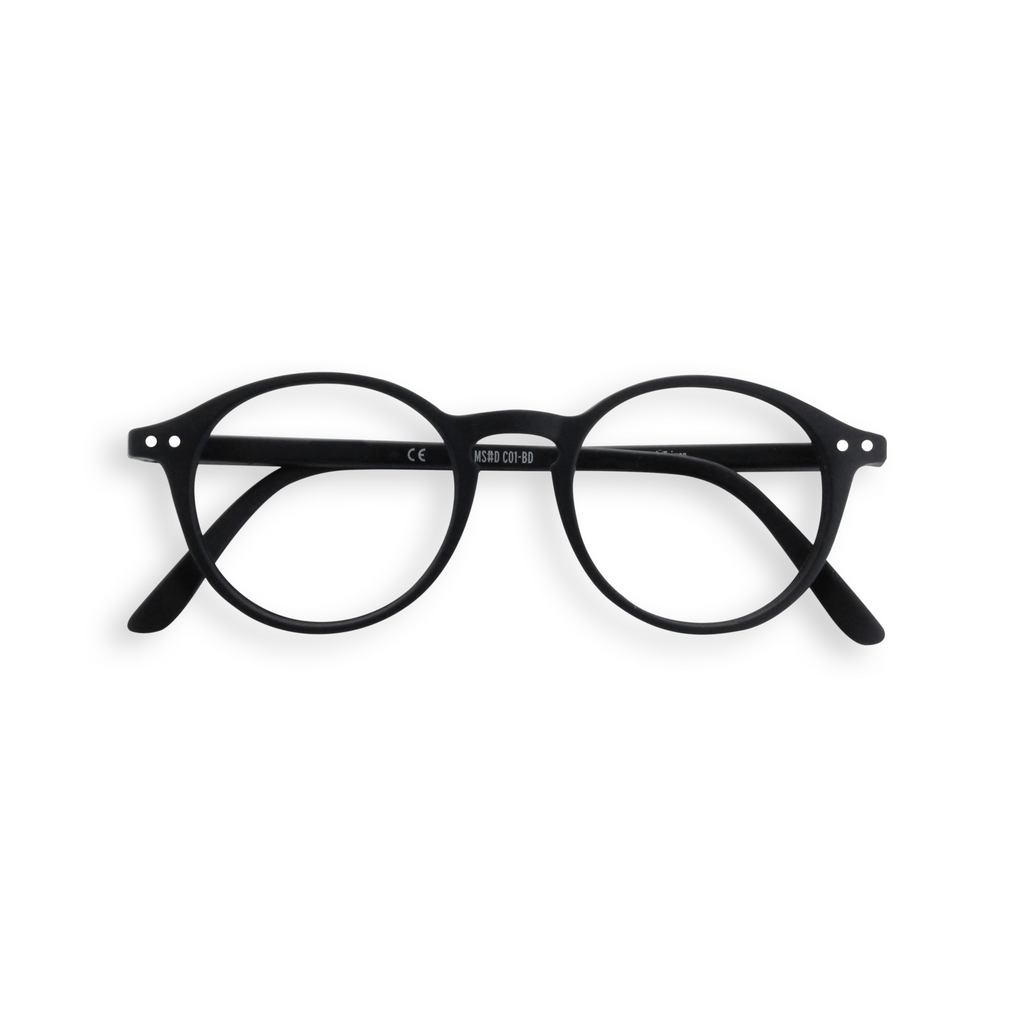 Junior Screen Glasses - D - Black