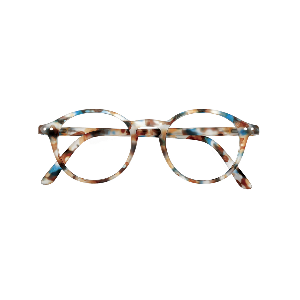 Junior Screen Glasses - D - Blue Tortoise